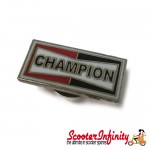 Pin Badge - Champion (Spark Plugs)