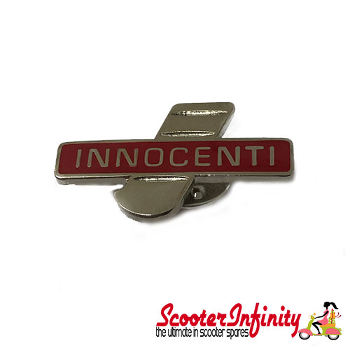 Pin Badge - Innocenti I Emblem (Red)
