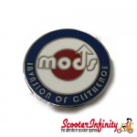 Pin Badge - Mod Target with MODS Emblem